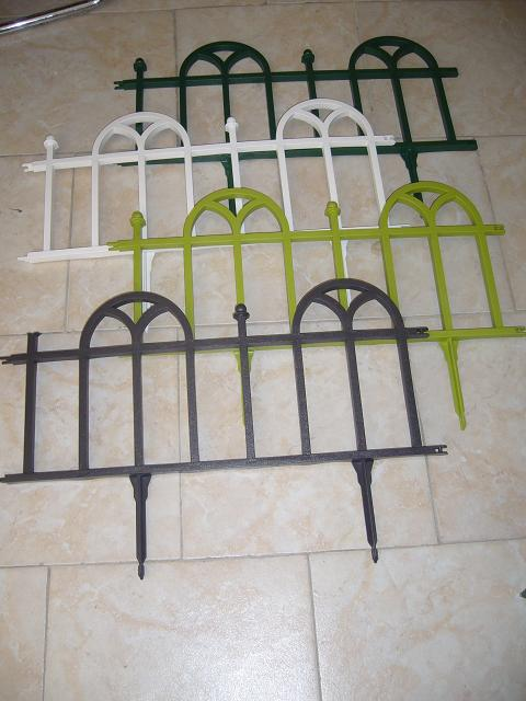 bordure de jardin en pvc modele art deco. Black Bedroom Furniture Sets. Home Design Ideas