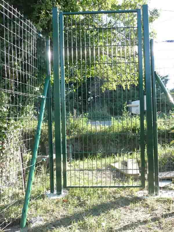 Portillon grillage 1m20 for Portillon de jardin largeur 1m20