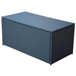 coffre de rangement en resine tressee. Black Bedroom Furniture Sets. Home Design Ideas