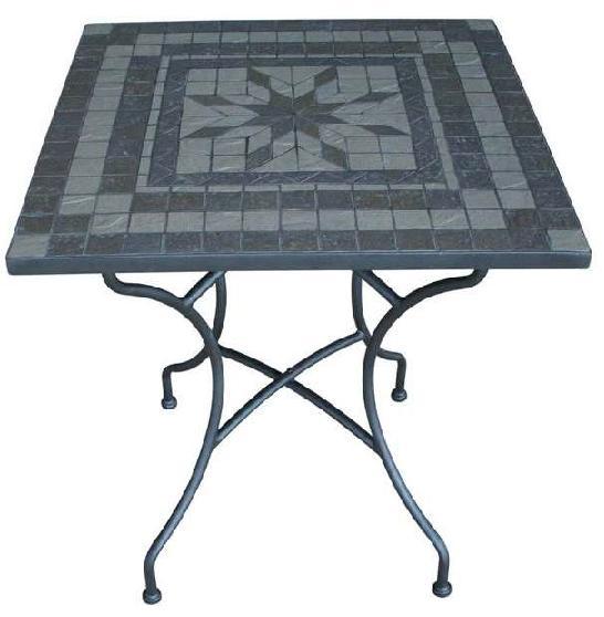 Table de jardin en fer modèle RABAT