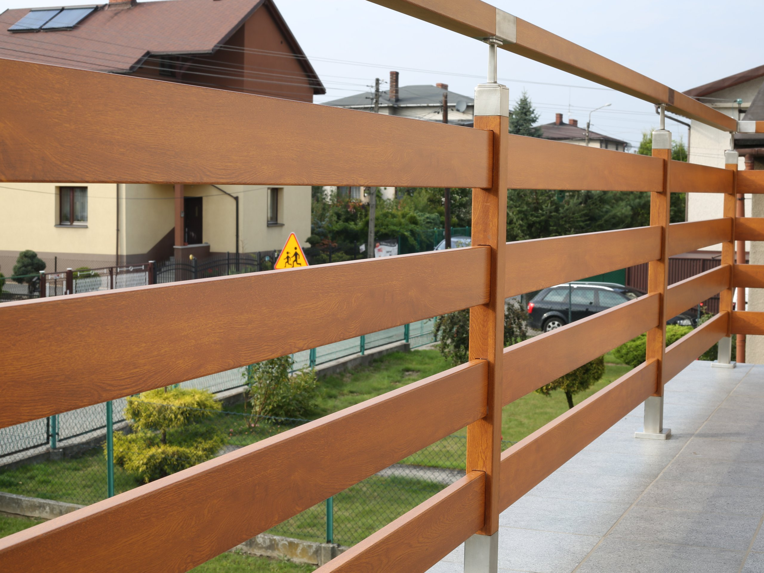 Balustrade FELLO Balcon Inoxydable traité CLASSE4