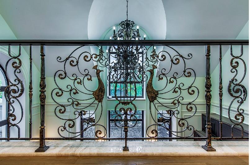Balustrades françaises pour escalier en fer forgés