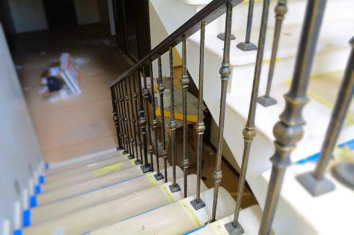 Balustrade française escalier MASTERS balustrade
